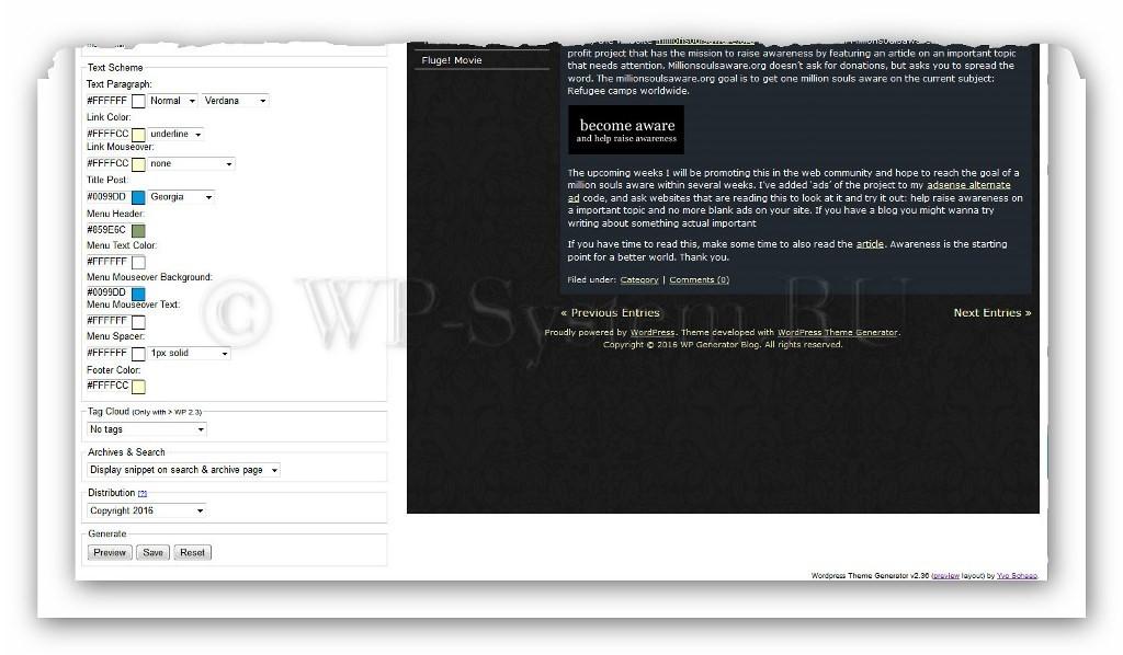 Как сделать шаблон для WordPress самому, бесплатно и без программирования