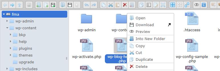 File Manager Advanced – удобный плагин файлового менеджера